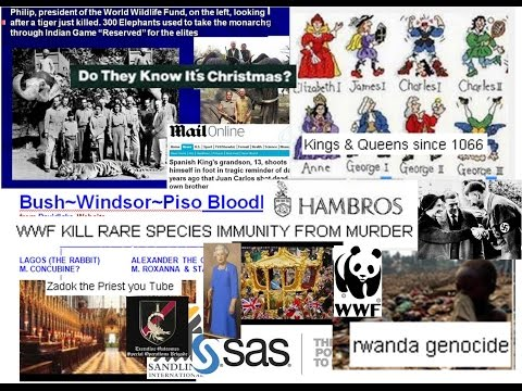 PISO WINDSOR £££ Bush World Owners part 2 WWF GREENPEACE & Global Land Grabs