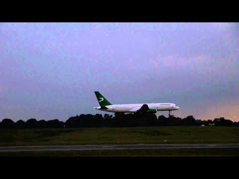 Turkmenistan Airlines Flight 411 (Ashgabat to BHX)