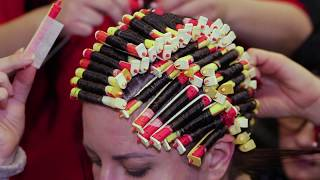Завивка Glam от Dott. Solari на IV Конгрессе экспертов по завивке волос