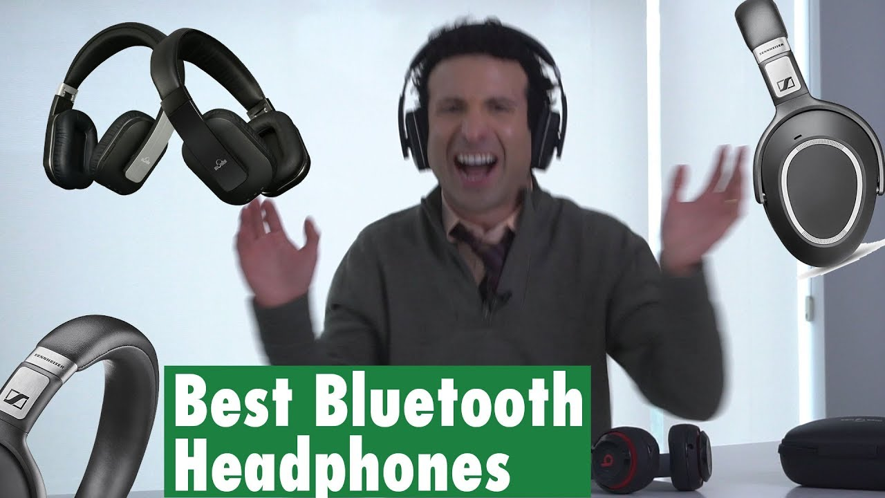 Best Noise Cancelling Over Ear Bluetooth Headphones Youtube