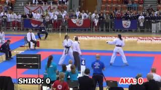 2015 WSKA - Junior Ladies Team Kumite Final