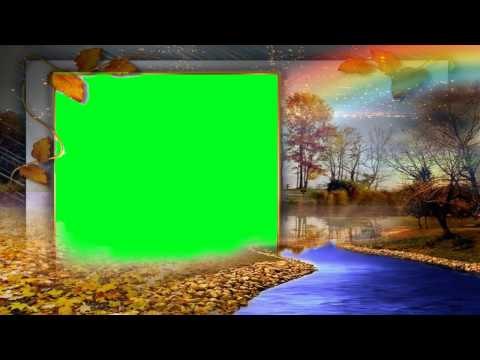 Animated HD Green Background Video