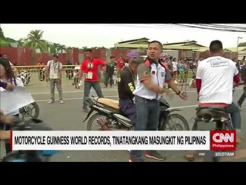Motorcycle Guinness World Records, tatangkaing masungkit ng Pilipinas