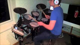 Where Them Girls At Drum Cover
