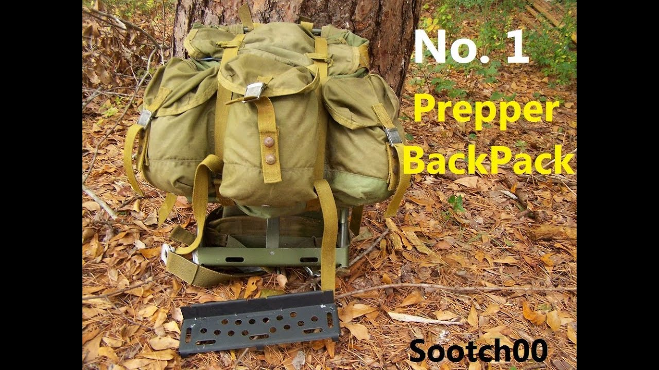 The No 1 Survival Backpack Youtube