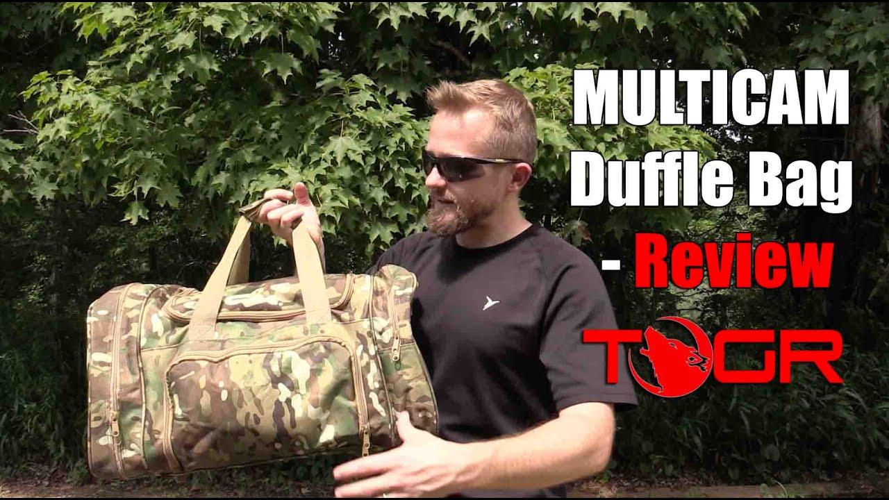 fff6e7d1bcb5 Medium Size Duffle! - MULTICAM Duffle Bag - Review - YouTube