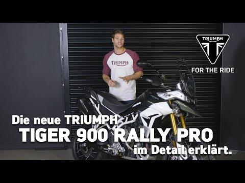 Die neue Triumph Tiger 900 Rally - im Detail erklärt