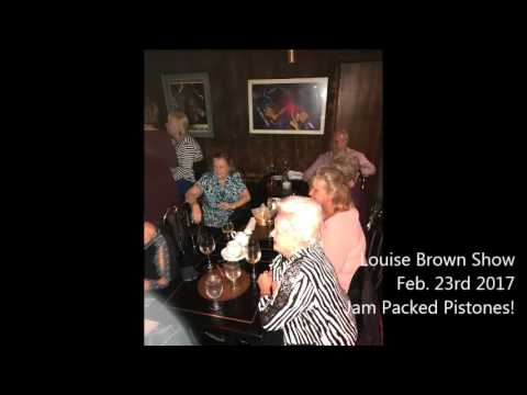 Louise Brown Packed Pistones