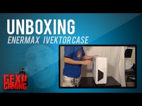 Unboxing af Enermax Ivektor case DK