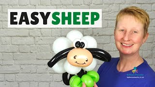 Balloon sheep tutorial - how to make a balloon sheep