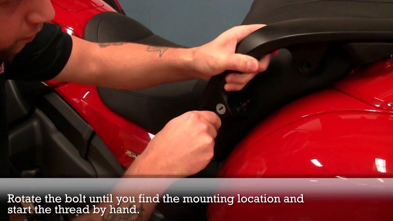 Honda F6b Install Youtube Gl1800 Wiring Diagram Communication