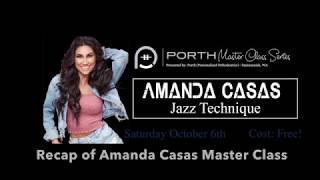 Glass House presents:  Porth Masterclass Series - Amanda Casas