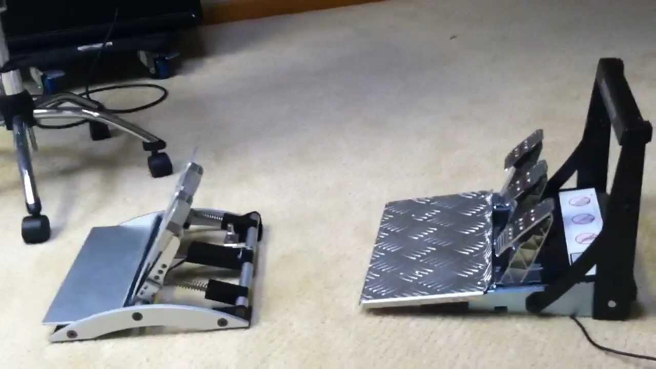 Thrustmaster T500 pedal vs  Fanatec Clubsport pedals
