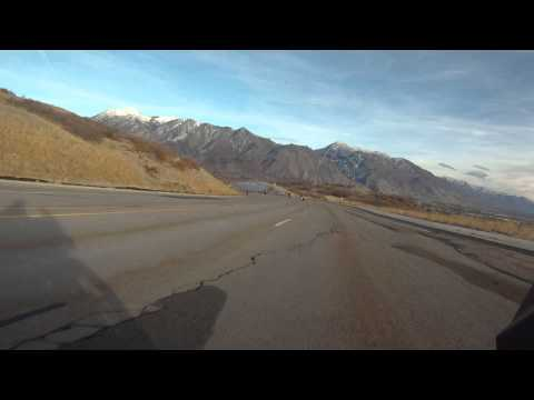 BMW dinner ride along Pioneer Rd in Draper to Alpine, Utah 27 Oct 2012