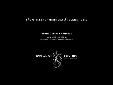 Thor Kjartansson - Áhrifamáttur kvikmynda (The Impact of Movies) - Iceland Luxury