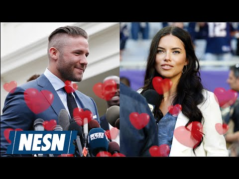 Julian Edelman Adriana Lima Newest Patriots Power Couple