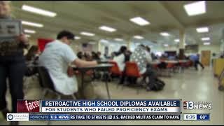 Nevada official: Retroactive high school diplomas available