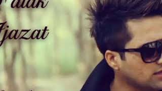 IJAZAT || FALAK || KARAOKE VERSION || CREATED BY ASFACK
