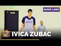QUICKLOOK: Lakers Rookie Ivica Zubac Practice (Raw Footage)
