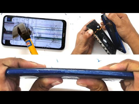 Xiaomi Redmi 8 - Scratch Test, Burn Test, Hitting Test, Bend Test!