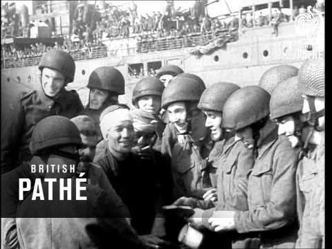 Allies In Algiers - November 1942 (1942)