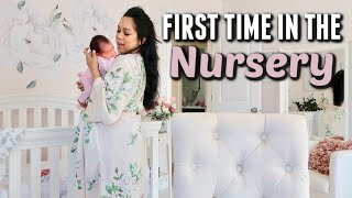 Leah's First Time in the Nursery! - itsjudyslife