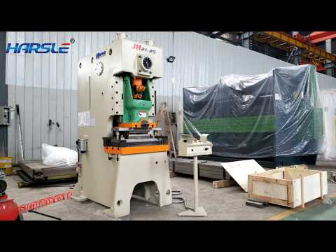 J21 25T pneumatic power press export to Fiji