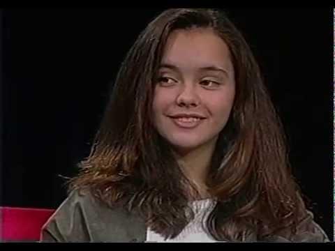 Christina Ricci interview.Age 13. 1993.