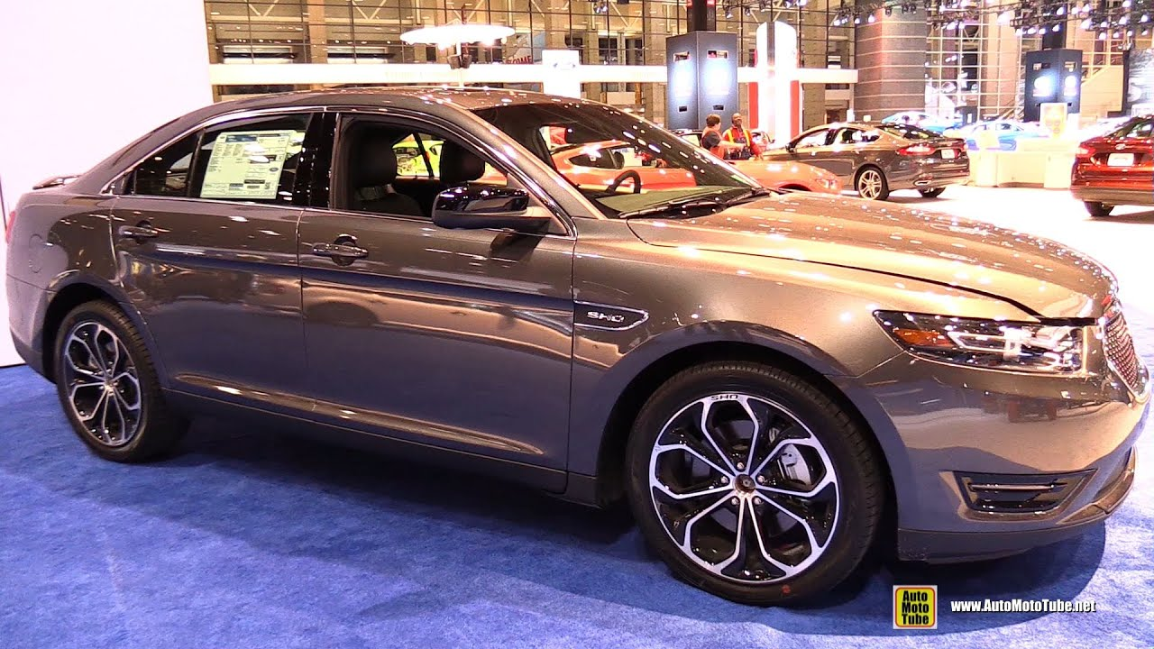 2015 Ford Taurus SHO AWD - Exterior and Interior Walkaround - 2015 Chicago Auto Show - YouTube