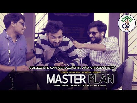 MASTER PLAN - An Inspirational Short Film [College Life, Campus Placements and a Hidden Story]
