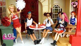 Barbie LOL Surprise Teen School Routine - Custom Punk Boi Teenager Doll