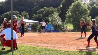 halie s hall of fame softball highlights 10u 12u
