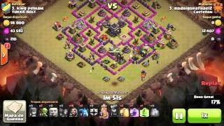 Clash of Clans ataque terreste - Usando gigantes