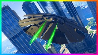 GTA Online SECRET Alien Vehicles & Laser Weapon Found In The Game Files! (GTA 5)