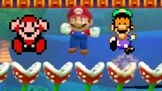 Nintendo smm - 100 Mario challenge with mods! [no commentary] [Mario Maker]