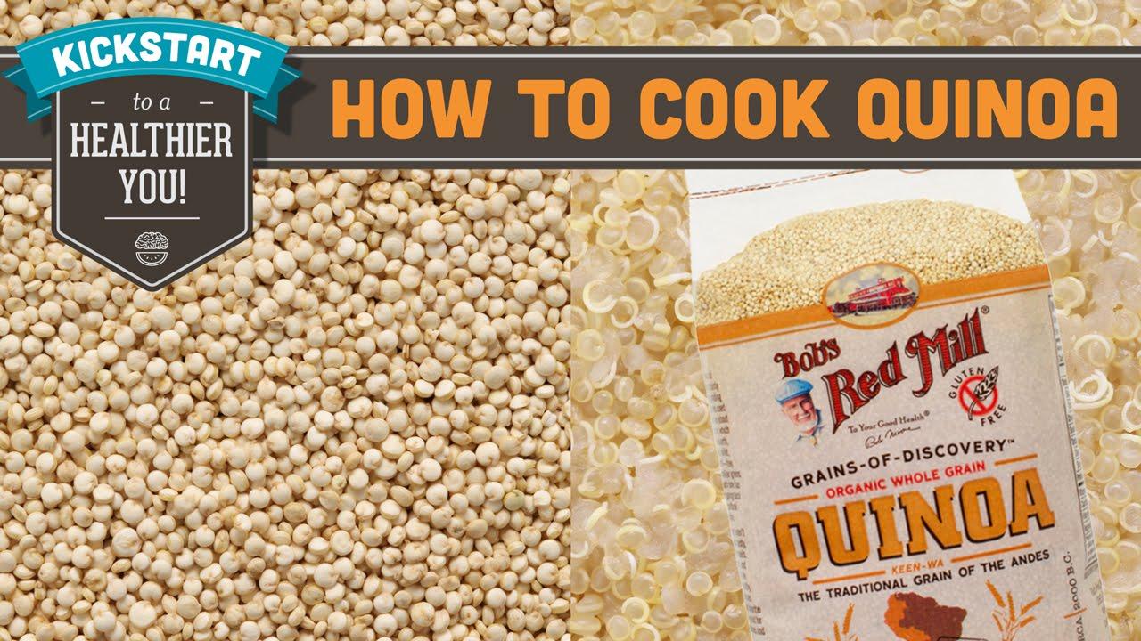 How To Cook Quinoa  Mind Over Munch Kickstart Series