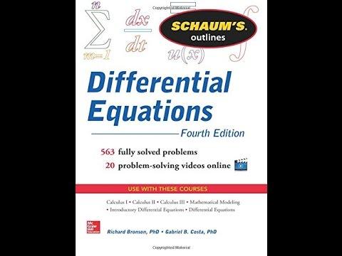 Schaum Series Differential Equations Pdf