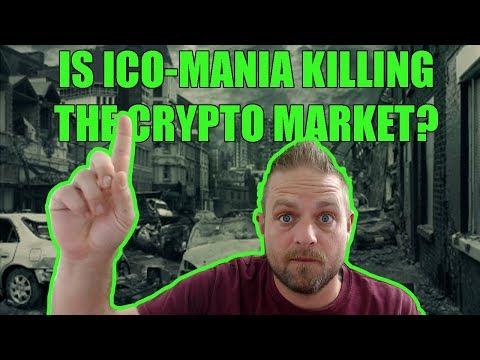 Are ICO's killing the crypto market?
