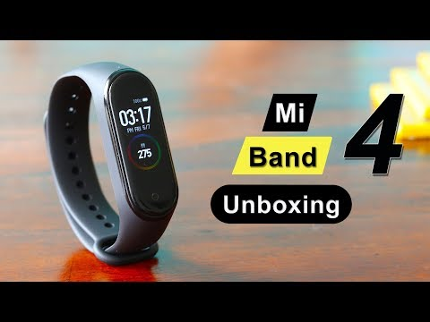 Mi Band 4 with Amoled Color Display - Unboxing and Impressions!!!