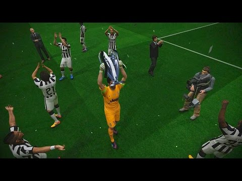 PES 2015 UEFA Champions League Final (Juventus F.C. vs FC Barcelona Gameplay)