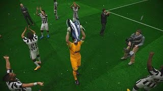 PES 2015 UEFA Champions League Final (Juventus F.C. vs FC Barcelona Gameplay)