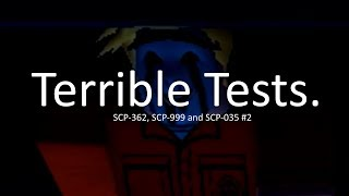 Roblox Eltork's SCPF - SCP 035 (and some other scps) (Test #8, #9 and #10)