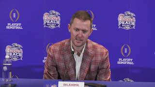 OU Football - Lincoln Riley on suspensions, Peach Bowl