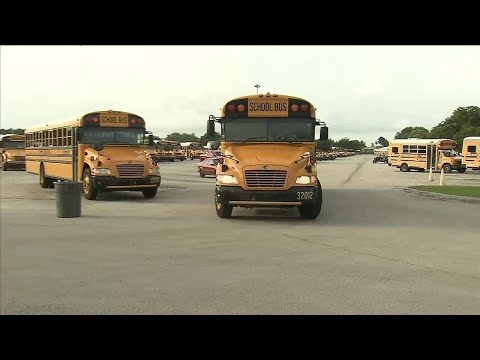 Miami-Dade school bus drivers learn new routes
