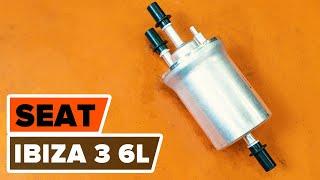 Montage SEAT IBIZA IV (6L1) Halter, Stabilisatorlagerung: kostenloses Video