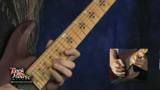 """Jeff Loomis Arpeggio Section """"Miles of  Machines"""" From his Rock House DVD due out Winter 2010"""