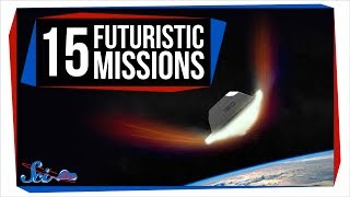 15 Futuristic Space Mission Concepts in 5 Minutes