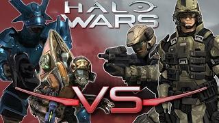 Grunt Squad Vs. Marines | Halo Wars 2 Unit Battle