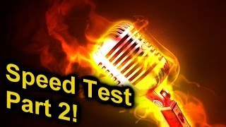 Is Eminem really a Rap God? Speed Test Part 2! Krayzie Bone, Twisted Insande, No Clue...!