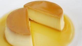 Cách làm bánh flan hấp bằng sữa tươi vàng bóng rất thơm ngon